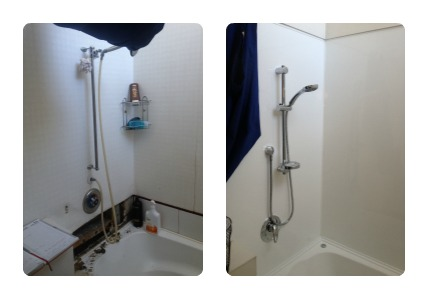 Before and After Bathroom Repairs