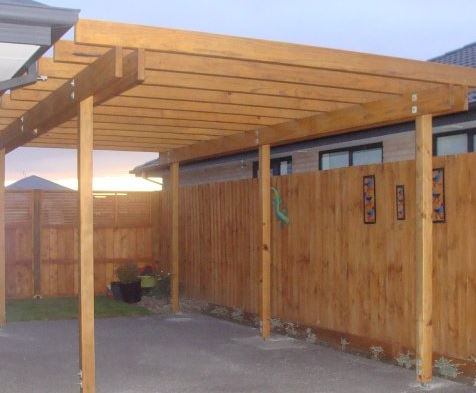 new pergola christchurch