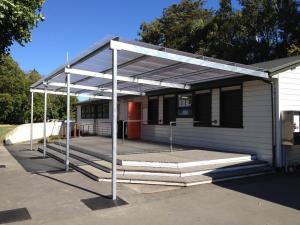 school verandah