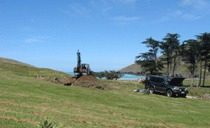 Te Oka Bay Site Prep